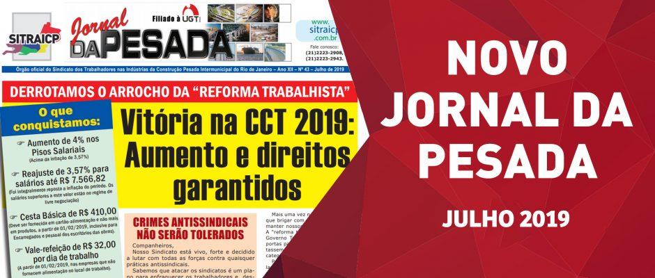 JORNAL DA PESADA – JULHO 2019